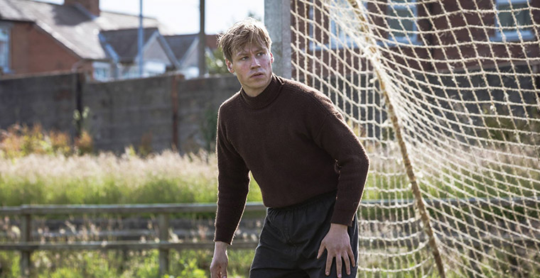 The Keeper stars David Kross as Bert Trautmann